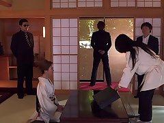 Amazing body wife Akari Hoshiro fucked apart from her husband's worst enemy