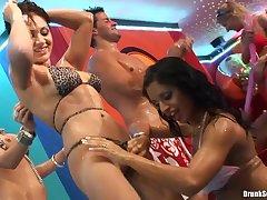 Shameless sot girls hot low-spirited show