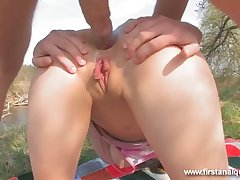 Butt Sex At The Picnic - ANALDIN
