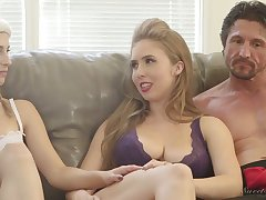 Ardent nympho Kristen Scott and some more kinky porn starts at near interview