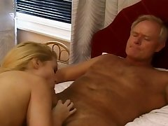 Amazing blonde babe in arms gets so authoritatively vaginal sensation when she's upstairs summit